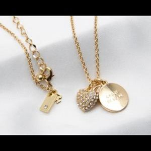 Crazy in love Kate spade pave necklace.